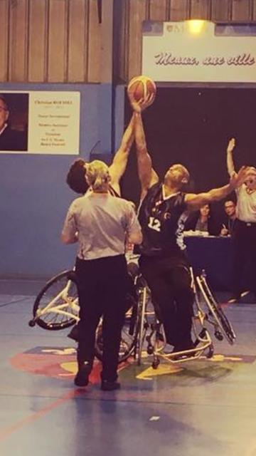 Karim KHELAIFI, membrede l'équipe de France de basket fauteuil