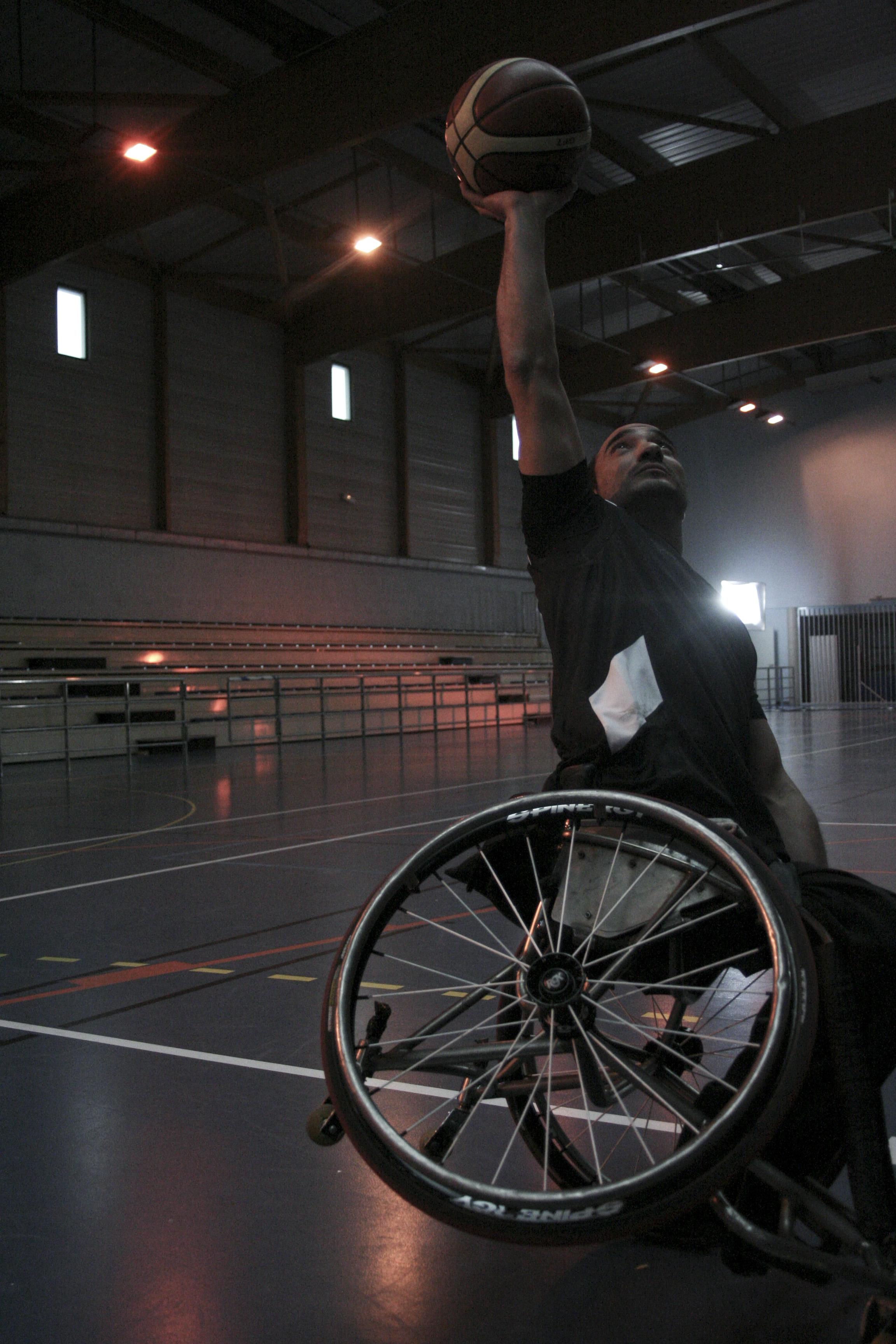 Samir GOUTALI, ancien membre de l'équipe de France de basket fauteuil